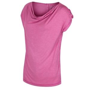 Regatta T-Shirt Nolana Wasserfallkragen red violet (Größe: 42)