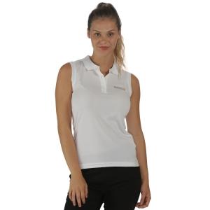 Regatta Tima Polo Shirt ärmellos weiss (Größe: 42)