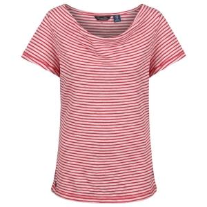 Regatta T-Shirt Francheska red Stripes (Größe: 38)