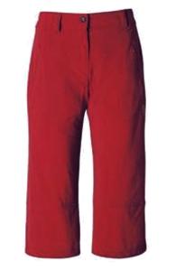 Hot Sportswear St. Louis Damen- Capri rot (Größe: 38)