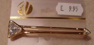 Brosche Pfeilform