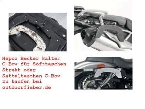 Hepco & Becker C-Bow Halter für BMW (bitte wählen: K 1300 R BJ 2009-16)