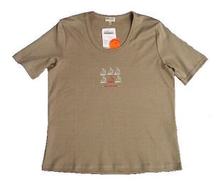 Damen T-Shirt Camelot Sailing (Größe: 42 marine)