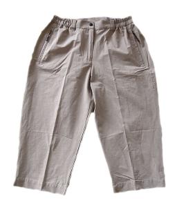 Hot Sportswear Stretch Capri für Damen (Größe: 38 sand)