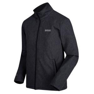 Regatta Carby Softshell Jacke meliert (Größe: XL navy)