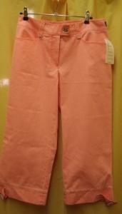 Steilmann Damen Capri Hose Farbe:apricot-lachs (Bitte wählen: 38)