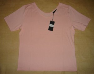 Damen T-Shirt Barolo lachs oder hummer (Bitte wählen: XL lachs)