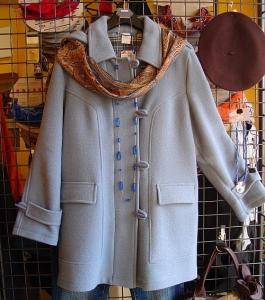 Dufflecoat -Duffle taubenblau (Größe: 44)