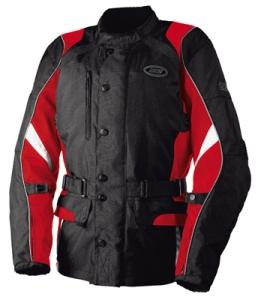 IXS Motorradjacke Eldorado für Herren -rot Gr. M (Größe: M)