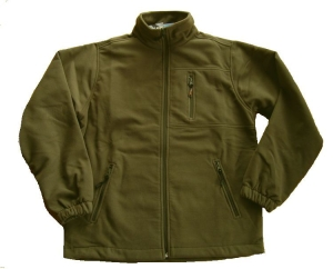 Hot Sportswear Fleecejacke Windbloc khaki (Größe: XL)