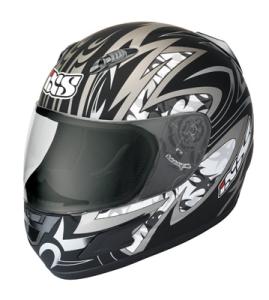 IXS Helm HX 245 Matt grau (Bitte wählen: XXL)