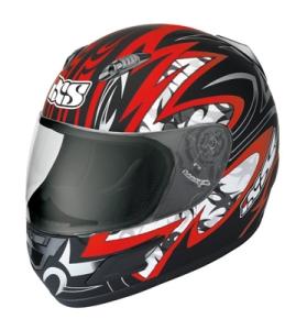 IXS Helm HX 245 Matt rot (Bitte wählen: L)