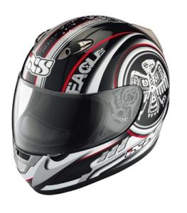 IXS Helm HX 247 Shamano (Bitte wählen: L schwarz-grau rot-weiss)