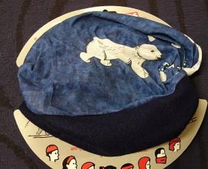 Had Tuch Winter für Kinder -Polarbear