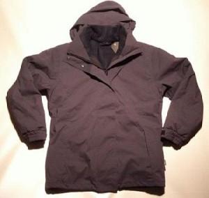 Hot Sportswear Doppeljacke Hurricane für Damen (Größe: 44 schwarz)