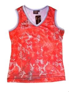 Canyon Tanktop Shirt cherry Print (Größe: 38)