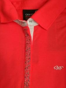 Canyon Women Sports Poloshirt cherrycoral (Größe: 46)