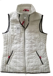Nickel Outerwear Damen Steppweste Light weiss (Größe: 42)