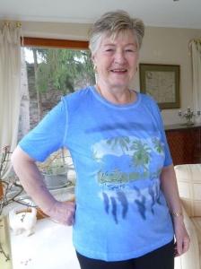 Canyon Women Sports T-Shirt Island Seablue (Größe: 42)