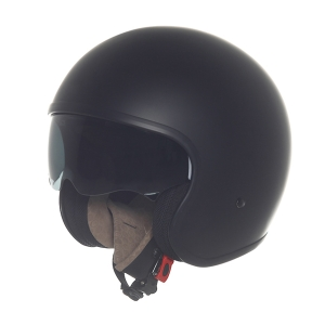 Suomy Jet 70s Plain black matt-Jethelm (Größe: S schwarz matt)