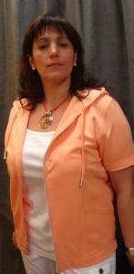 Canyon Women Sports Jacke mit Kapuze- apricot (Größe: 42)