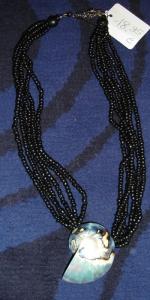 Halskette mit Muschelanhänger Modeschmuck