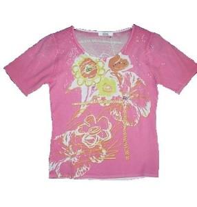 T-Shirt Koine rosa (Bitte wählen: DL=36/38)