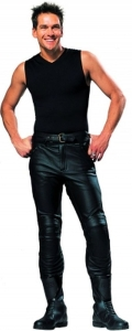 IXS Motorrad Lederhose für Herren (Größe: 56)