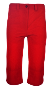 Hot Sportswear St. Louis Damen- Capri rot (Größe: 42)