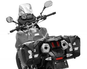 Enduristan Motorradsatteltaschen Monsoon 3 (bitte wählen: Monsoon 3 zur Montage ohne Kofferträger)