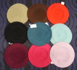 Baskenmütze (Farbe: sand)
