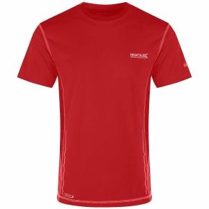 Regatta Funktions-T-Shirt Jenolan rot (Größe: 3XL)