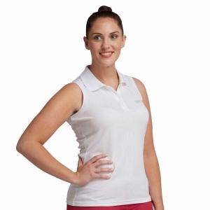 Regatta Fatima Polo Shirt ärmellos weiss (Größe: 36)