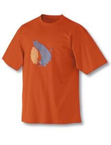 Regatta T-Shirt Oakland -orange Gr. L (Bitte wählen: L)