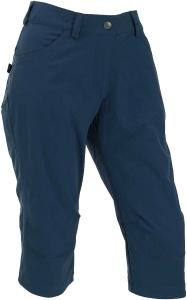 Maul Damen Capri Hose Rennes elastisch blau (Größe: 40)