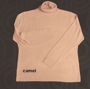 Cashmere Touch Rollkragenpulli (bitte wählen: S camel)
