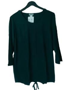 Adelina Shirt grün 3/4 Arm (Größe: 44)