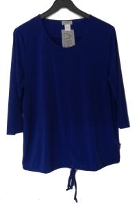 Adelina Shirt royalblau 3/4 Arm (Größe: 50)