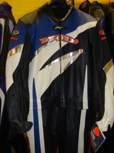 Spidi Sportkombi RS dunkelblau-blau-weiss (Bitte wählen: 56)