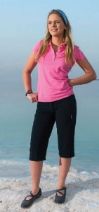 Hot Sportswear St. Louis Damen- Capri black (Größe: 40)