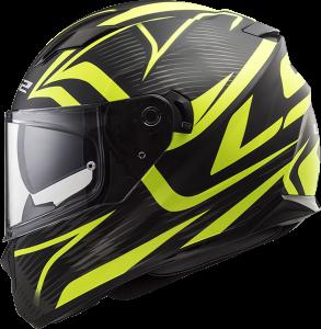 LS2 Helm Stream Evo Jink matt black H-V yellow FF320 (Größe: S)