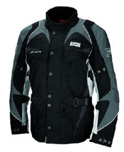 IXS Motorradjacke Tarragona-grau Gr. 2XL (Größe: XXL)