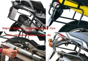 Hepco & Becker Kofferträger für Kawasaki (bitte wählen: Kawasaki Z 750 2004-2006 schwarz)