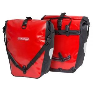 Ortlieb Fahrradtaschen Back Roller Classic (Farbe: rot-schwarz)