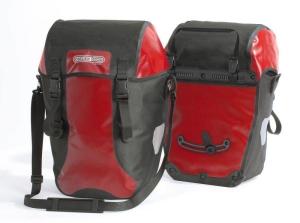 Ortlieb Fahrradtaschen Bike Packer Classic (Farbe: rot-schwarz)