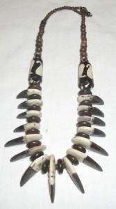 Halskette Naturtöne Modeschmuck
