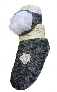 Von Lamezan ABS-Socken Haussocken multi anthr. (Größe: 35-38)