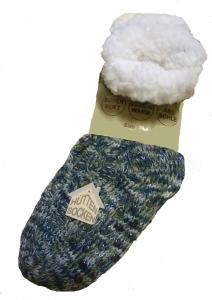 Von Lamezan ABS-Socken Haussocken multi navy (Größe: 35-38)