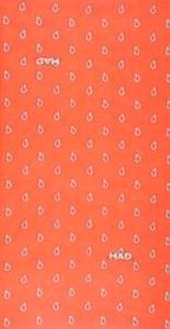 Had Tuch- paisley orange