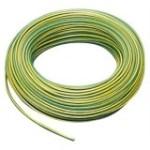 Aderltg. H07V-K 10,0 grün-gelb flexibel, 100m Ring